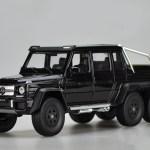 1 24 Welly Fx Mercedes Benz G Class G63 6x6 Black Diecast Model Livecarmodel Com
