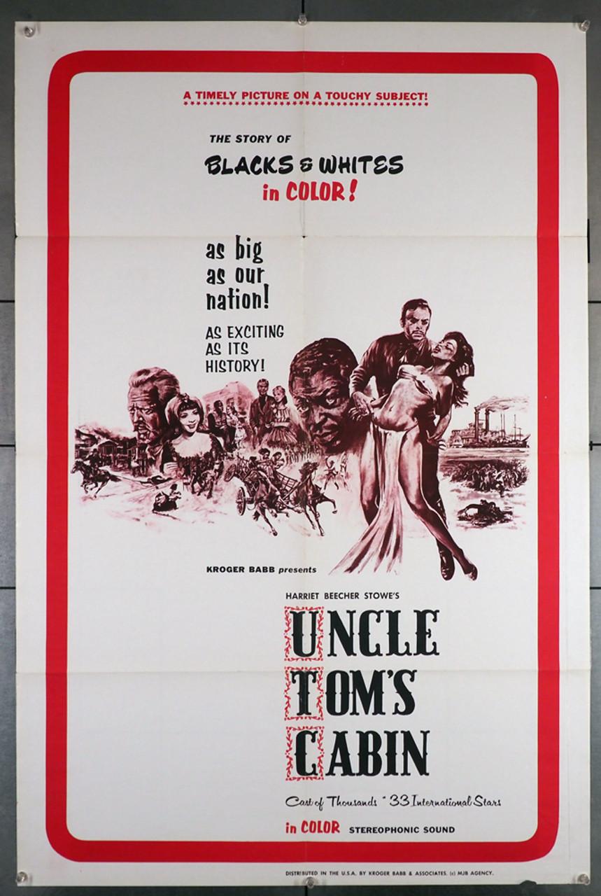 uncle tom s cabin 1977 4106 harriet beecher stowe movie poster