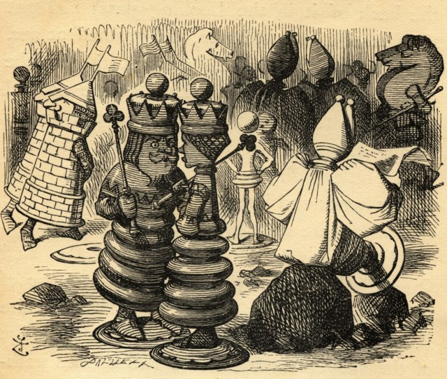 The Red King And Queen Illustration By Sir John Tenniel