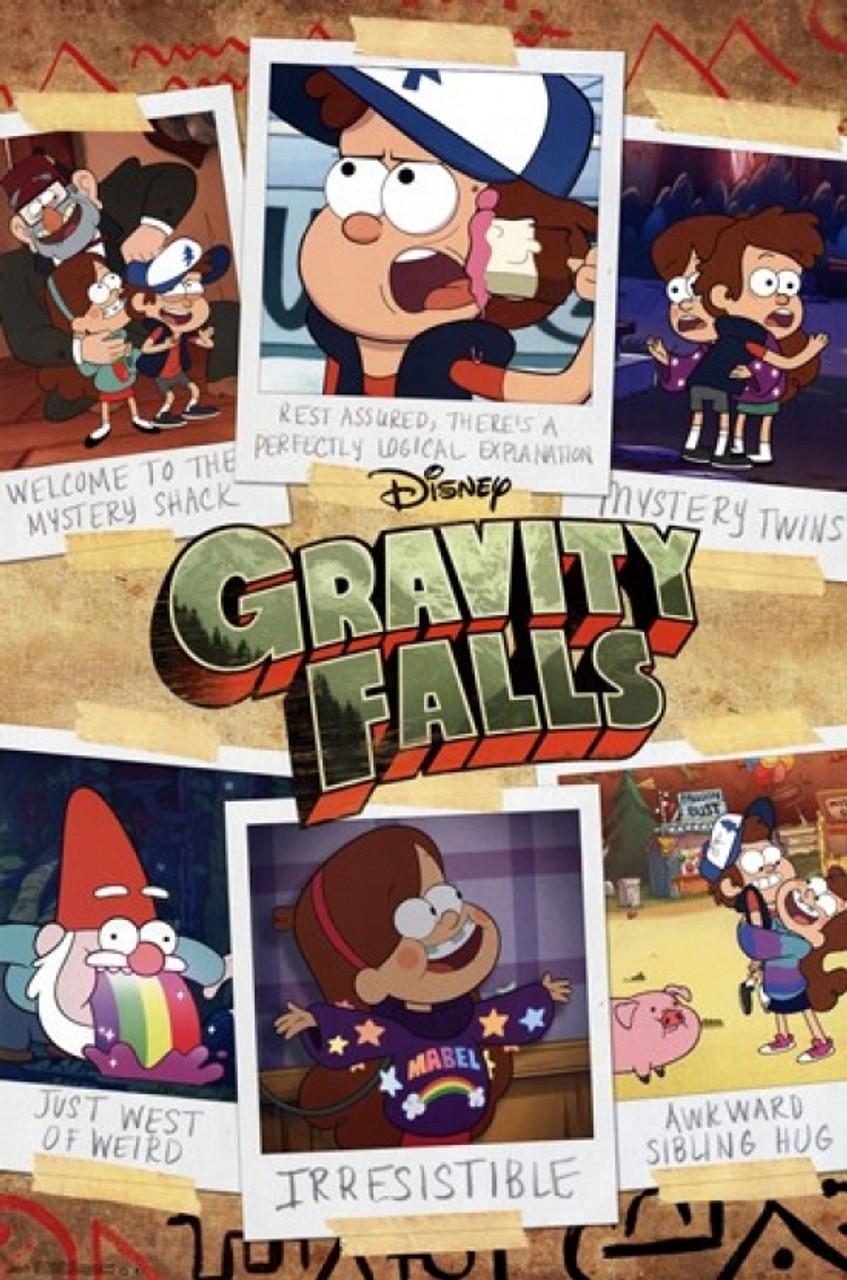 gravity falls grid poster print item vartiarp13477