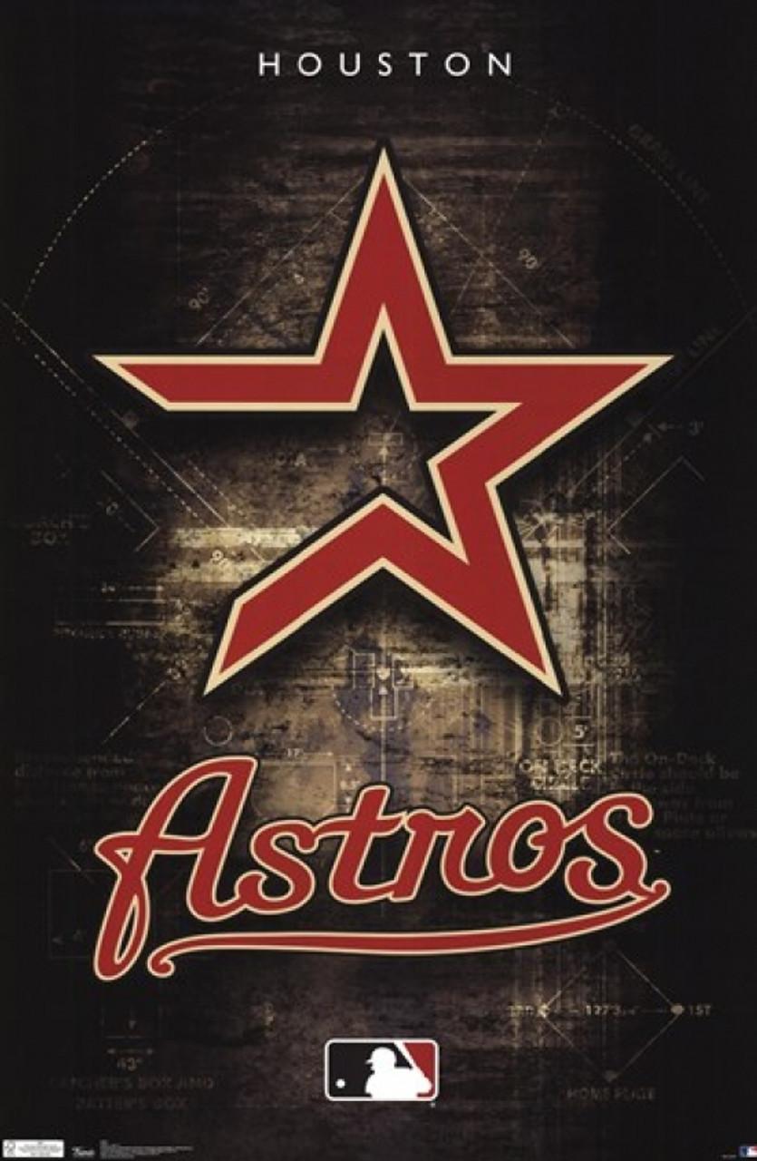 houston astros logo 2011 poster print item vartiarp4545
