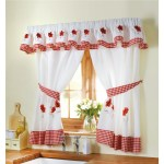 Poppy Cafe Style Kitchen Curtains Scotts Of Stow