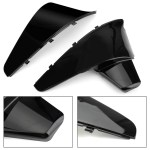 Battery Side Cover For Honda Shadow Vt600 Vlx 600 Steed400 1988 1998 Black Motorgenic