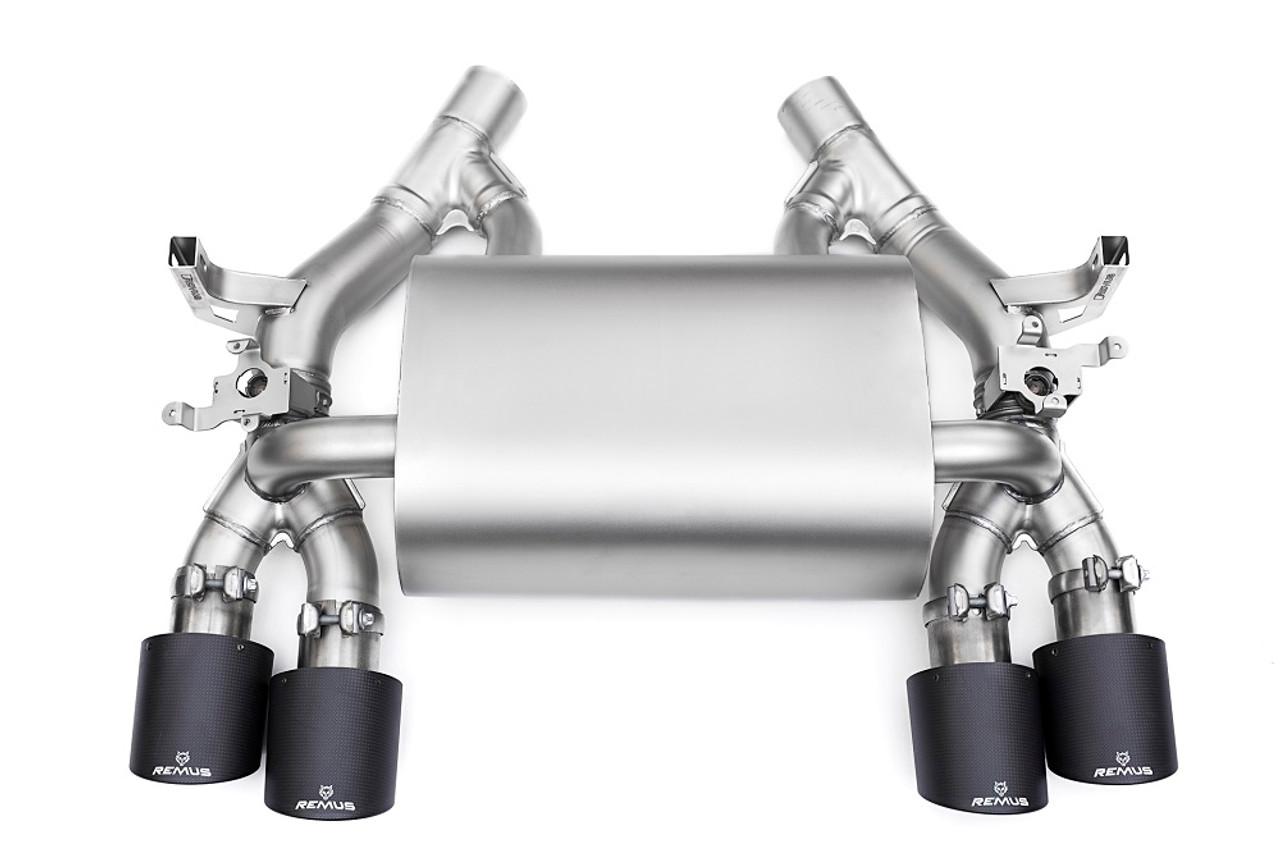 remus axle back exhaust bmw f80 f82 m3 m4