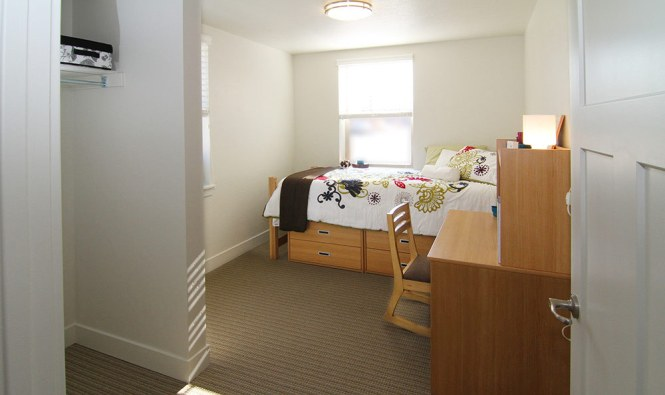 Bedroom Inside Student Apartments In Provo