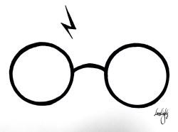 8028ca7a31 Mind Scar Harry Potter Glasses Clipart Gigi Hadid Vanity Fair Zayn ...