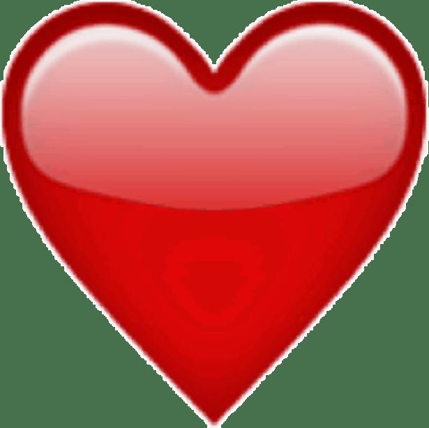 Coeur Emoji Ios Iphone Sticker By Charlotte Gueho