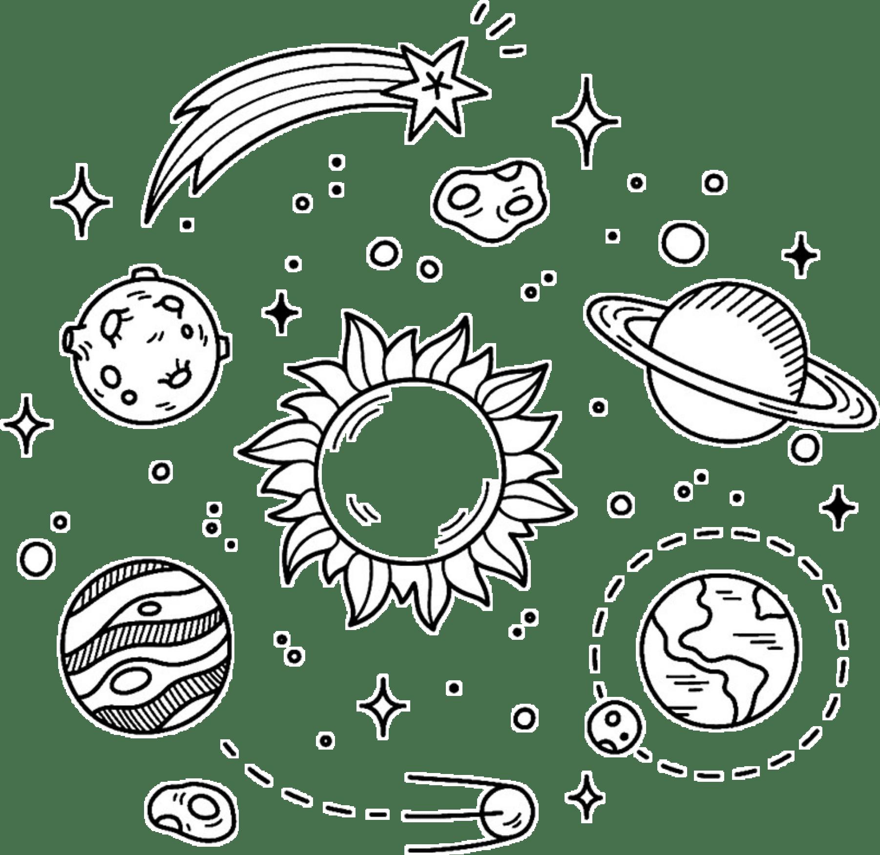 Sticker Space Starremixit Sun Tumblr Galaxy