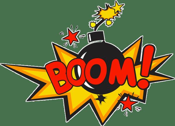 boom bang pow comics speechbubble bubble emoji letters