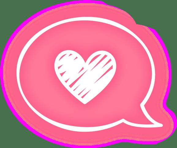 message heart pink overlay tumblr cute kawaii neon ligh...