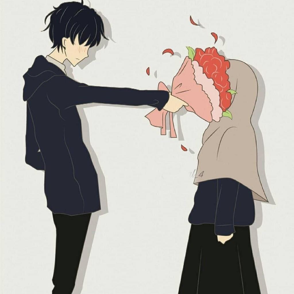 Wallpaper Anime Pp Couple Terpisah Anime Novocom Top