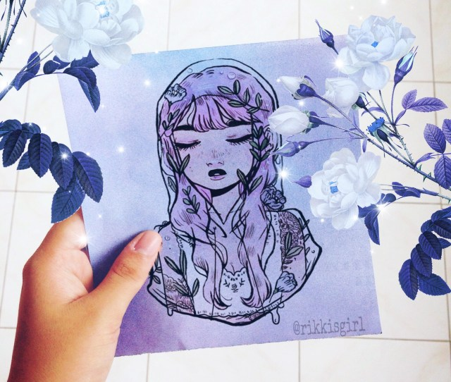 Lucydieze Gamer Photos Drawings And Gif Art Jpg X Paint Kawaii Blue Hand Aesthetic Anime  C B Download Image