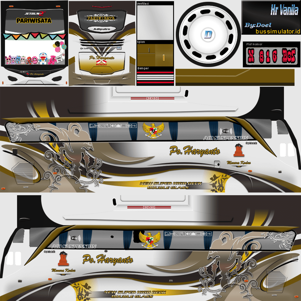 In our website listed all most popular bussid mod with download link. stiker air suspension bussid