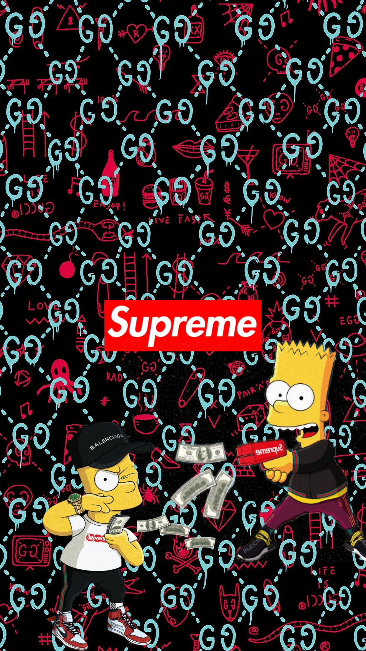 Dope Simpson Bart Pictures