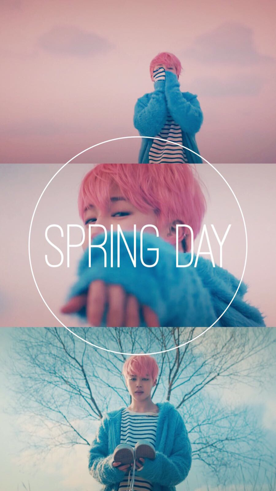 Bts Jimin Spring Day Iphone Wallpaper