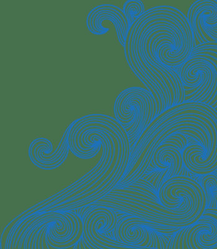 Waves Swirl Bluewaves Doodle Ftestickers Blueswirl