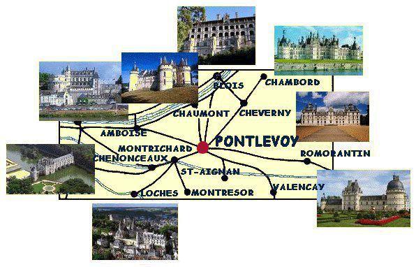 Visiter Pontlevoy
