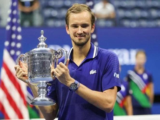 Medvedev gana el US Open y frustra marca perfecta de Djokovic
