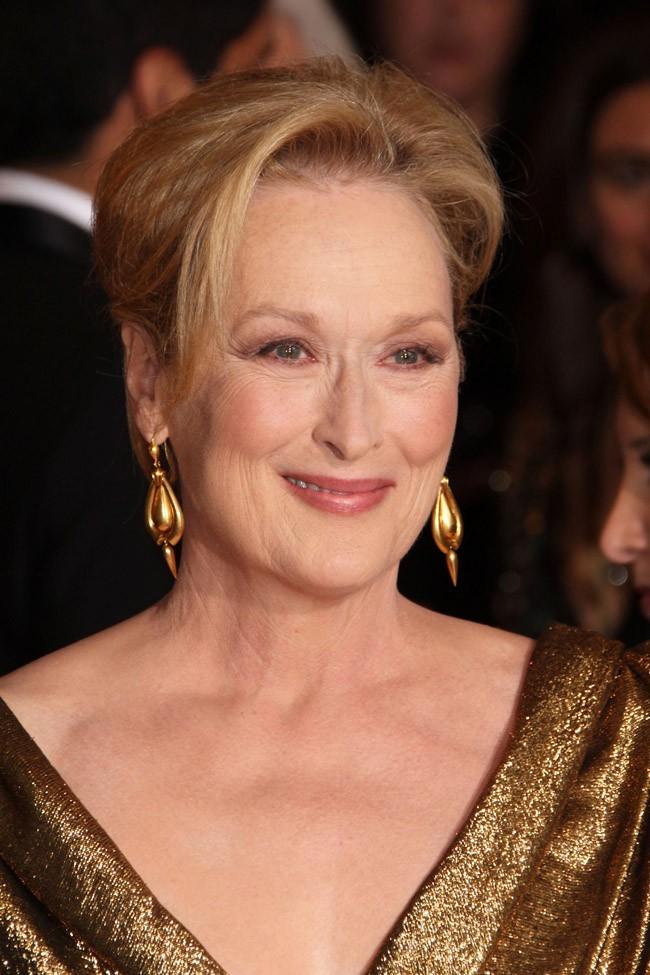 Photos Oscars 2012 Meryl Streep La Meilleure Actrice
