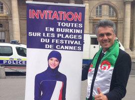 """Public Buzz : Un millionnaire algérien lance l'opération """"Toutes en burkini"""" au festival de Cannes"""