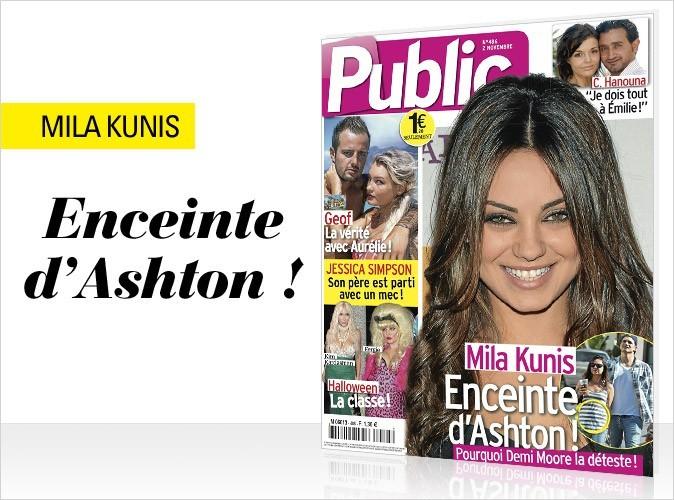 Mila Kunis en couverture de Public