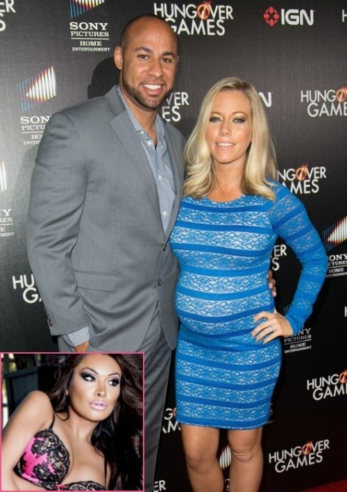 Kendra Wilkinson's Husband Hank Embroiled In A Cheating Scandal With A Transsexual Model; Kendra Kicks Him Out!