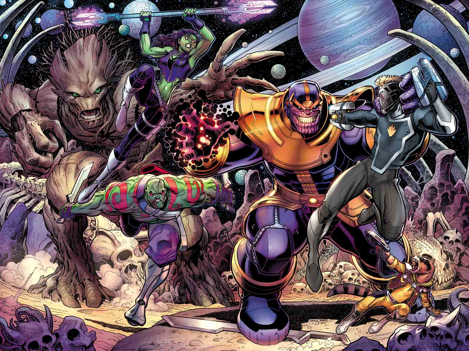 Image result for guardians of the galaxy #21 april 2017