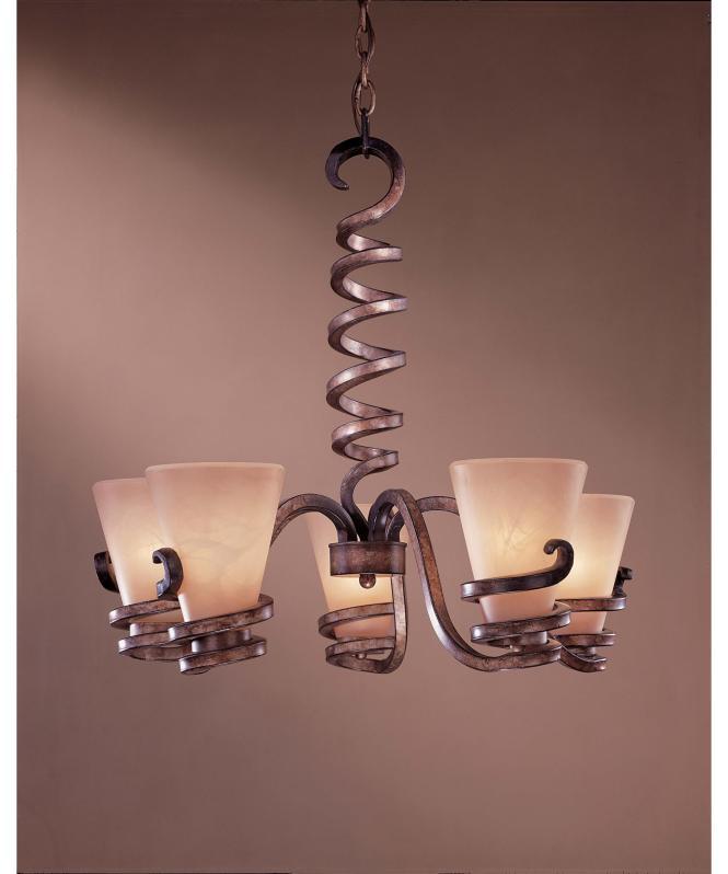 Shown In Tofino Bronze Finish And Marble Grabar Glass