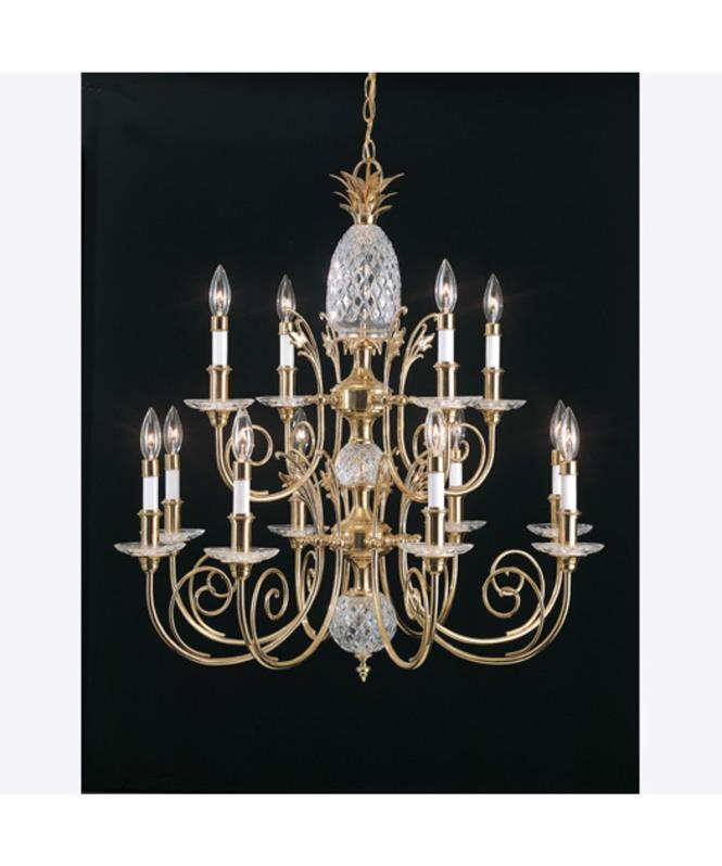 Crystal Pinele Chandelier Light Ideas Quoizel Qg502 31 Inch Wide 8