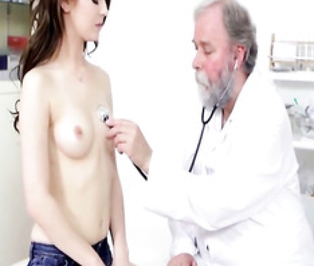 Dirty Doctor Seduced Teen Patient Babe To Fuck In Cabinet