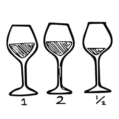 Cuanto se debe servir de vino