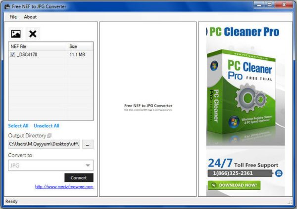 Download Free NEF to JPG Converter v1.0 - AfterDawn ...