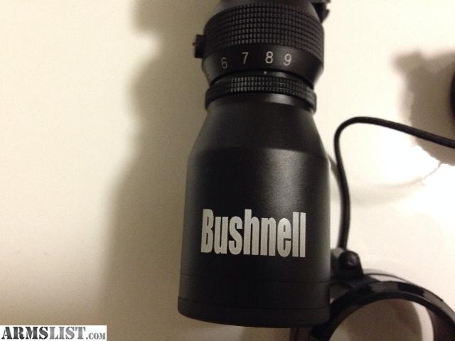 3x9x40 Price Bushnell Scope