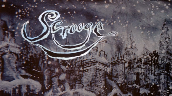 Scrooge 1970 Art Of The Title