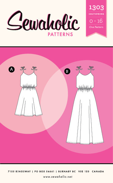 Sewaholic Saltspring Dress