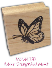Mount Information & Help : Rubber Art-Stamps