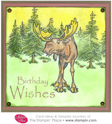 Birthday Wishes Moose Card Ideas Amp Samples Rubber