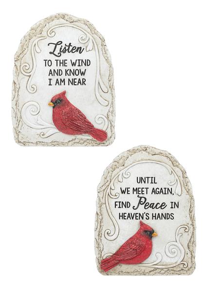 Cardinal Garden Stones GiftswithloveInc