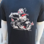 Hot Rod And Surf T Shirt By Lowbrow Artist Damian Houseospeed
