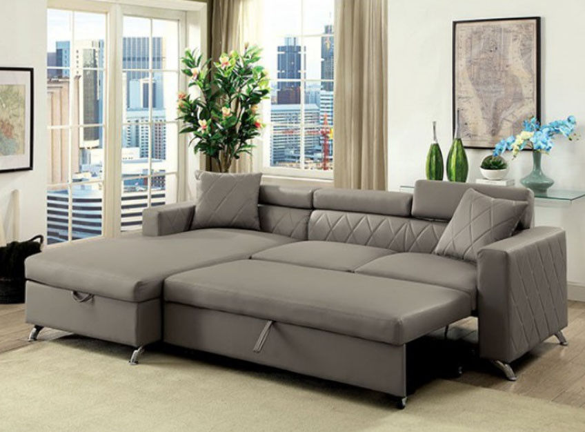 Image Result For Sectional Sofa Pull Out Sleeper Bed Chaise Underneath Storage