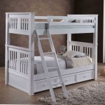 Gary Xl Twin Over Xl Twin Bunk Bed With Trundle