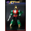 Fans Toys FT-04G - Scoria Green Color Limited Edition of 500 - Iron Dibots no. 1