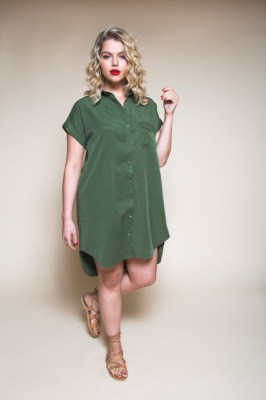 Closet Case Kalle Shirt & Shirtdress Pattern (Intermediate)
