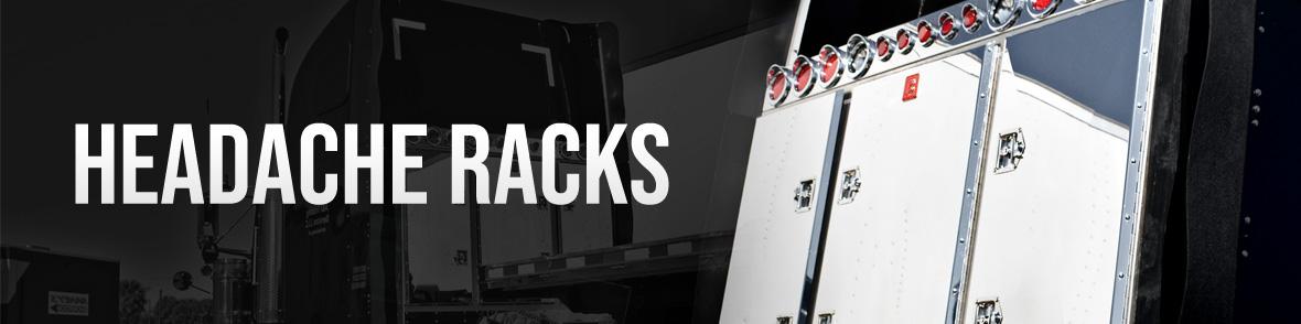 browse headache racks for semi trucks