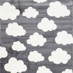 Piccolo 924 Grey Cloud Kids Rug