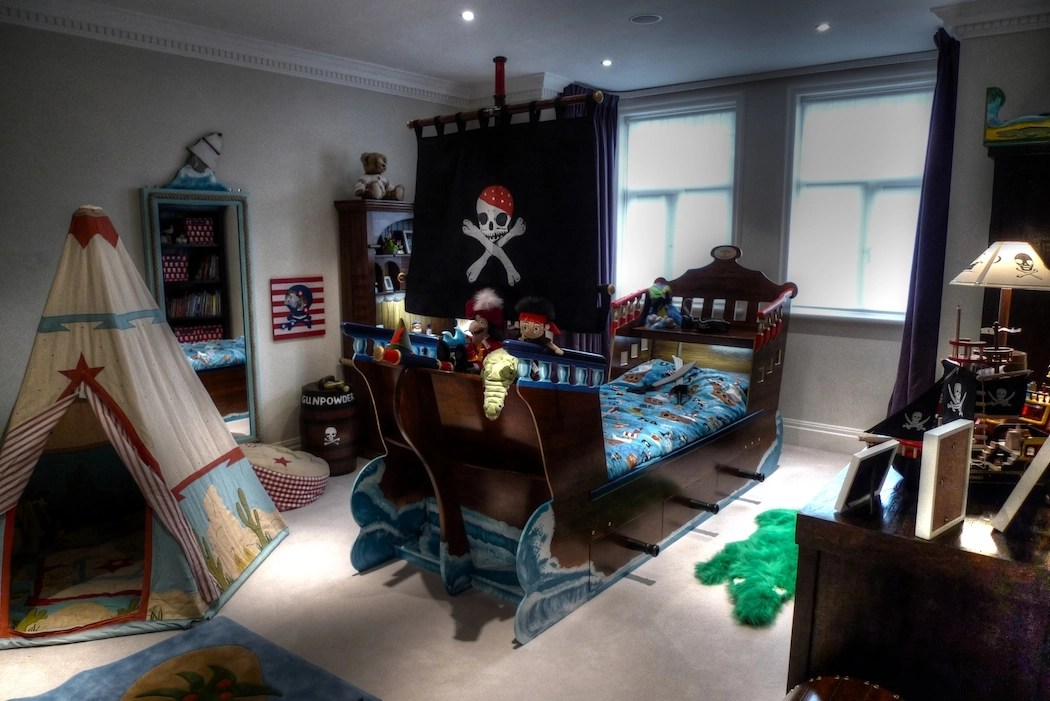 6 ways to turn your little boy's room into a pirate ship - the