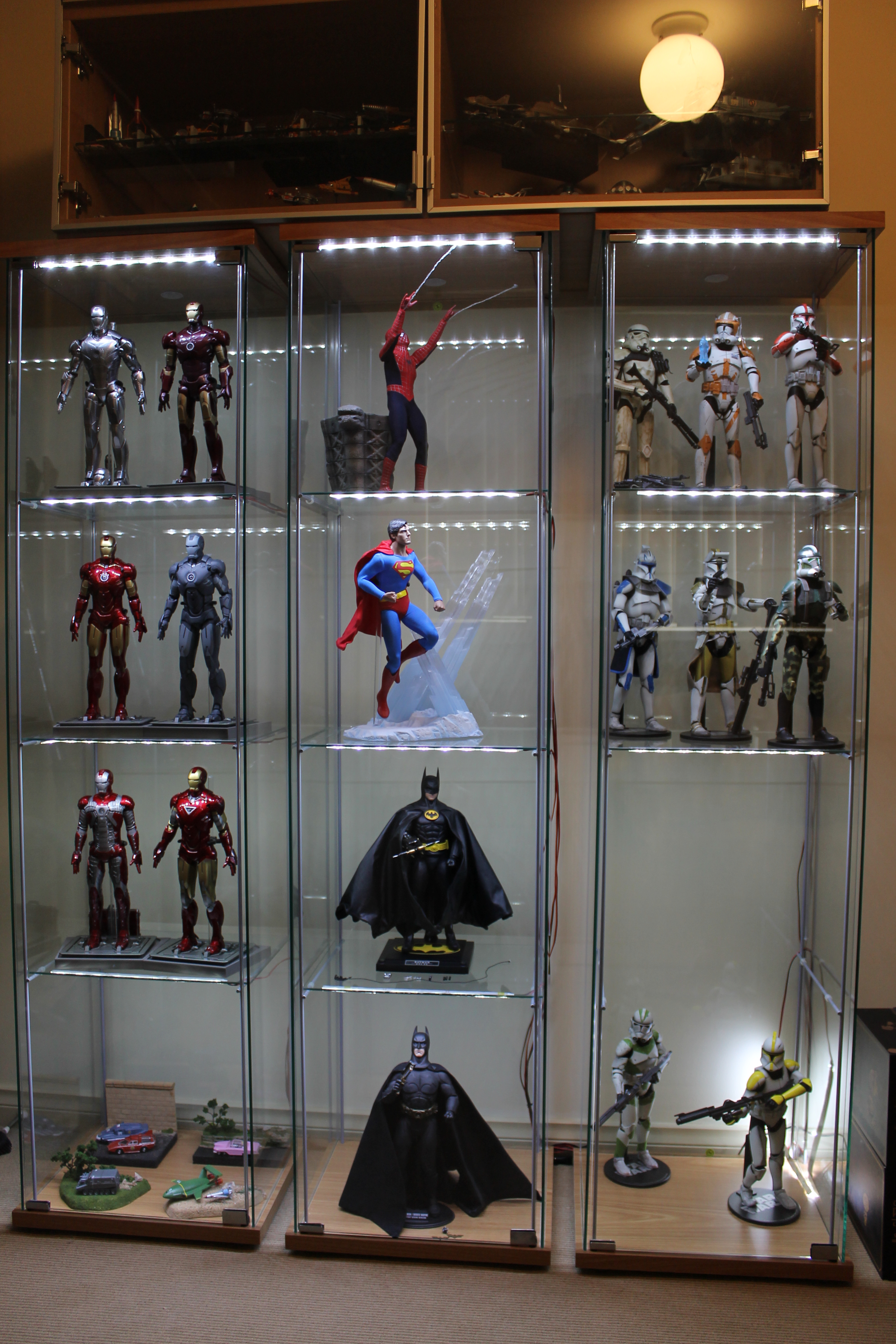 led lights for glass display cabinets