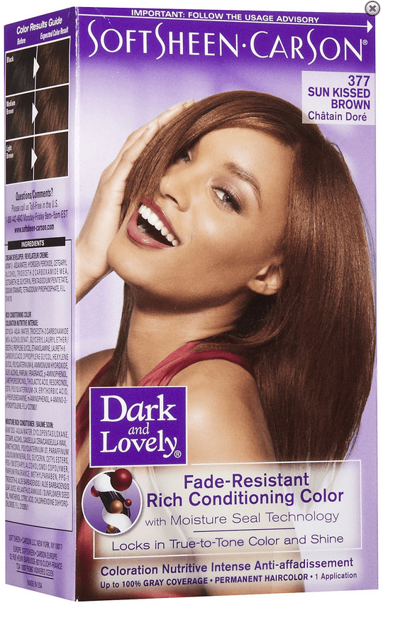 Dark And Lovely Hair Color Sunkissed Brown The Glamour Shop