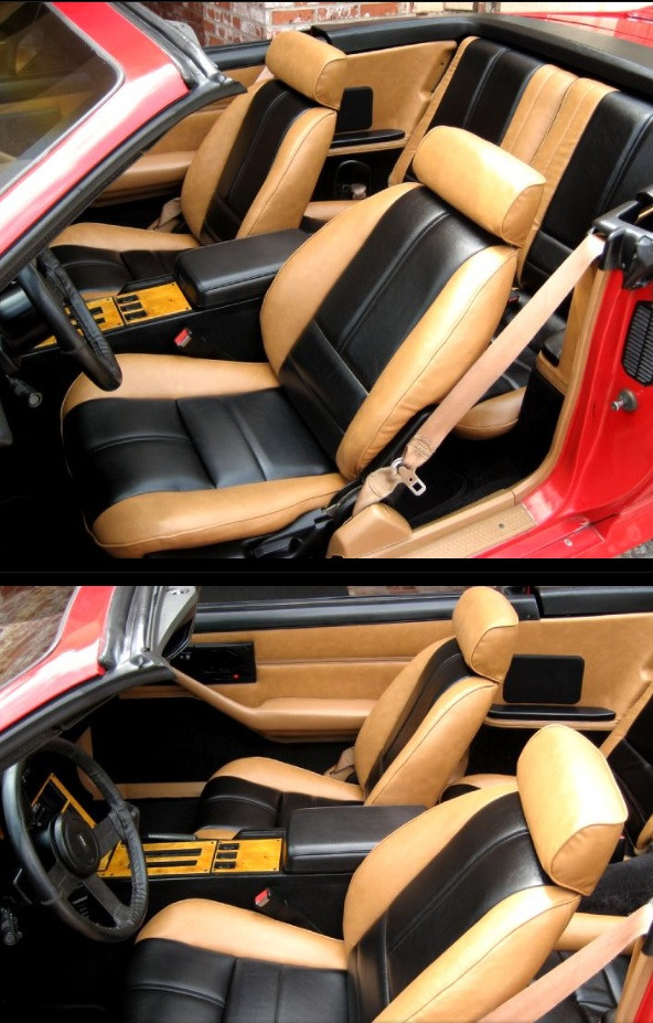 Camaro 88 92 Seat Upholstery Kit New Replacement Hawks