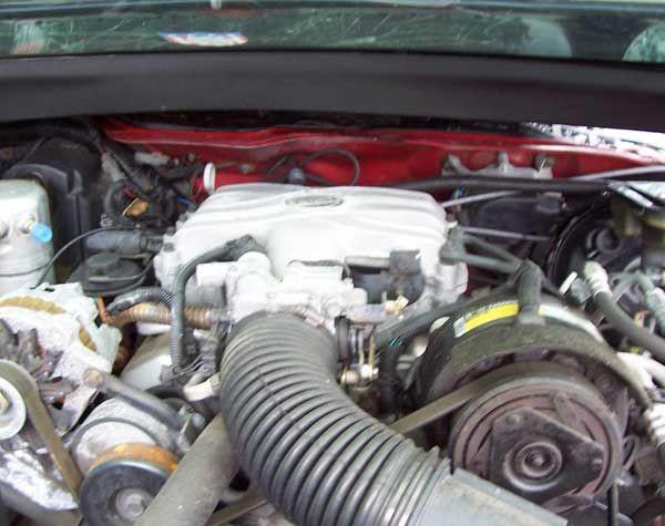 CamaroFirebird 8292 V6 Engine with wiring & accessories  Hawks Third Generation